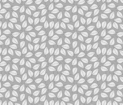 LEAFY fabric by biancagreen on Spoonflower - custom fabric