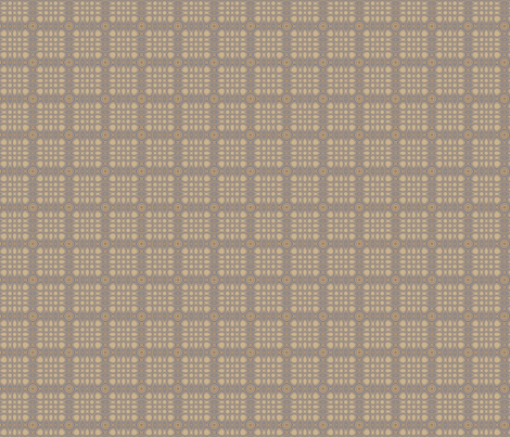 Sophisticated Beige Plaid © Gingezel™ 2012 fabric by gingezel on Spoonflower - custom fabric