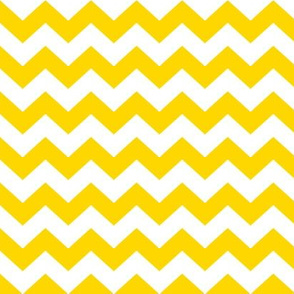 White and yellow chevrons.
