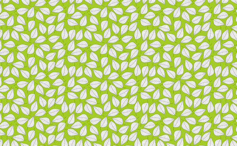 LEAFY (green) fabric by biancagreen on Spoonflower - custom fabric