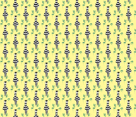 Zebra fabric by bunnyjump on Spoonflower - custom fabric