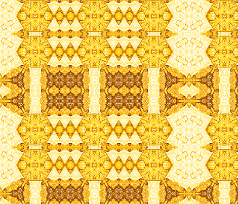 Aw, Honey  fabric by wren_leyland on Spoonflower - custom fabric