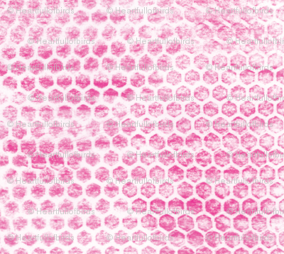 pink-crayon-hexagons