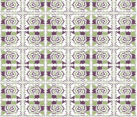 EXTRATERRESTRIAL GEOMETRIC CYCLONE fabric by bluevelvet on Spoonflower - custom fabric