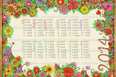 Enchanted Forest Calendar