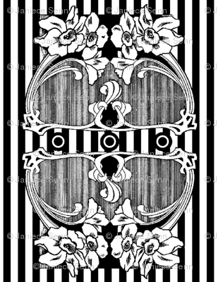 Black and White Nouveau
