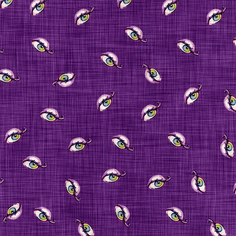 Eyes fabric by dinorahdesign on Spoonflower - custom fabric