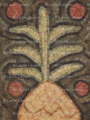 prim hooked pineapple ©LLausen