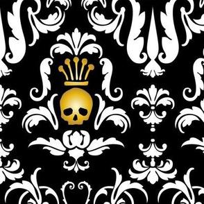 Skull Demask-Black