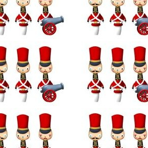 Red Toy Soldiers