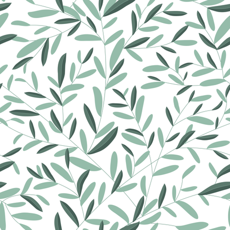 Olive  fabric by yaskii on Spoonflower - custom fabric