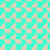 Blue Neon Mosaic