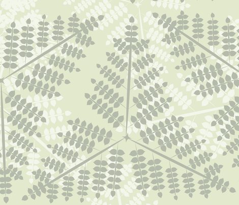 bush-01 fabric by katja_saburova on Spoonflower - custom fabric