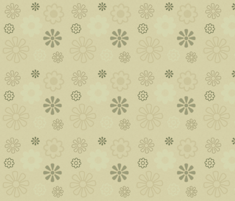 Flowers 5 fabric by dogsndubs on Spoonflower - custom fabric
