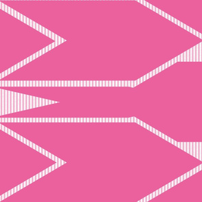 Pink Arrows and Stripes