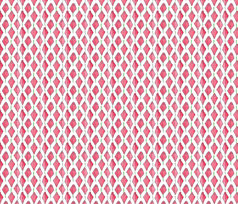 Modish blushing rosebud box - small fabric by victorialasher on Spoonflower - custom fabric
