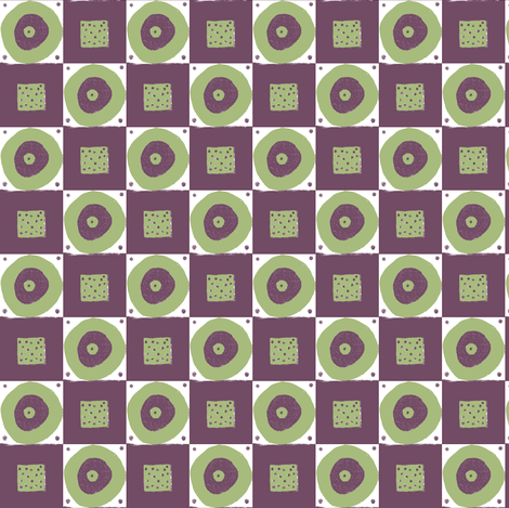 Madeline's geometric fabric by neetz on Spoonflower - custom fabric