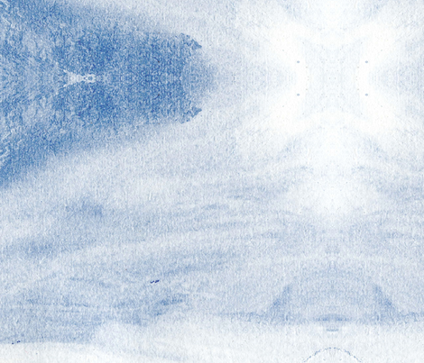Open Road Blue Sky fabric by kimi-d on Spoonflower - custom fabric