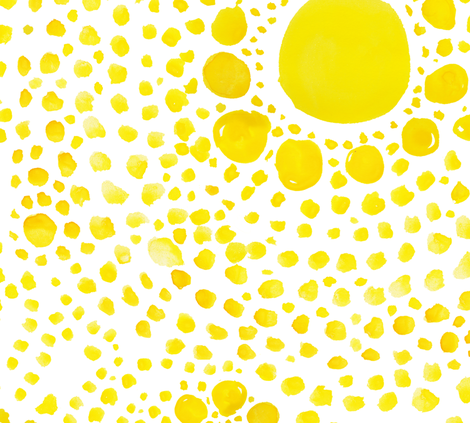 cestlaviv_butterfly dots  (sun spots) fabric by cest_la_viv on Spoonflower - custom fabric