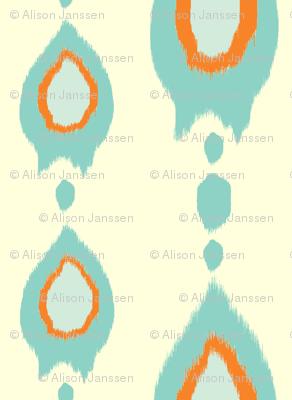 Ikat Arrows - blue