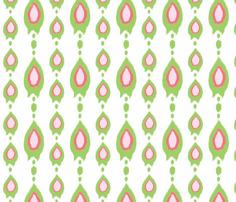 Sweetheart holiday Stripe fabric by fable_design on Spoonflower - custom fabric