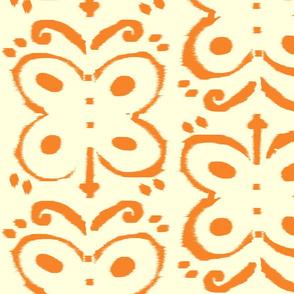 Butterfly Girl-Orange