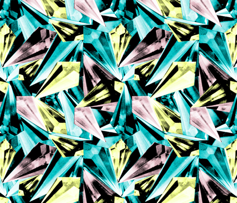 Shards Multi fabric by sianalexandria on Spoonflower - custom fabric