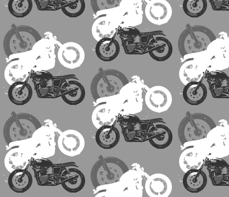 moto_madness fabric by stickelberry on Spoonflower - custom fabric