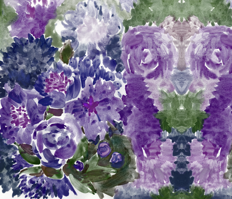 cestlaviv_ttopicana lavender fabric by cest_la_viv on Spoonflower - custom fabric