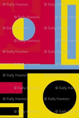 Primary Circles and Half-Circles