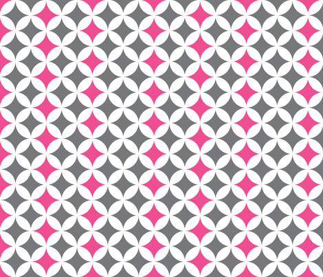 moddotsgreypink fabric by natitys on Spoonflower - custom fabric