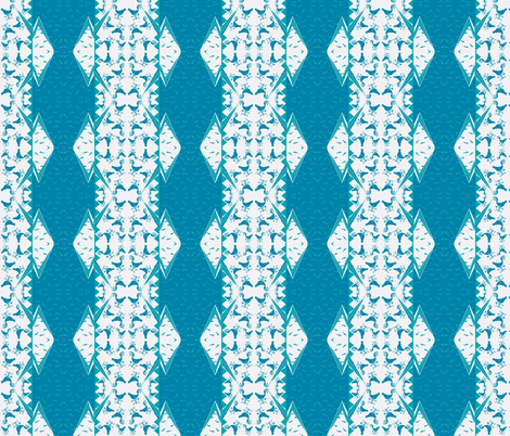 CYCLONE TEAL WEATHERVANE fabric by bluevelvet on Spoonflower - custom fabric