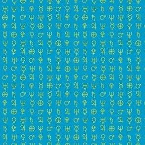 alchemy planet symbols 13