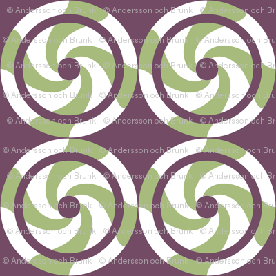 Swirling circles