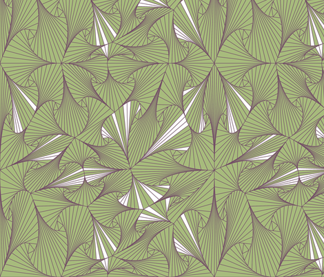 Geometrica 9 - Triangles fabric by chris on Spoonflower - custom fabric