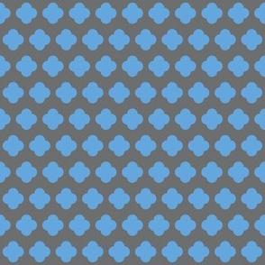 4 dot flower