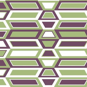 Parallelogram Trapezoid Stripe Horizontal