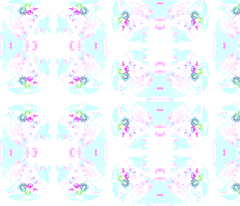 Vintage Pastel fabric by captiveinflorida on Spoonflower - custom fabric