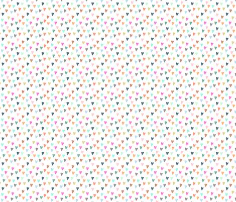 pastel hearts fabric by katherinecodega on Spoonflower - custom fabric