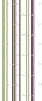 Green & Purple Stripes