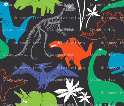 Dinosauria Gray (large scale)