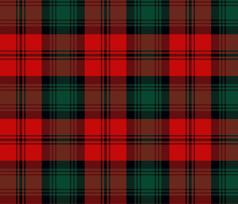 Doctor Who 3rd Third Dr Jon Pertwee Inverness cloak Tartan fabric by warmcanofcoke on Spoonflower - custom fabric