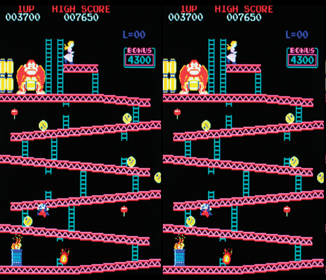 Donkey Kong fabric by retropopsugar on Spoonflower - custom fabric