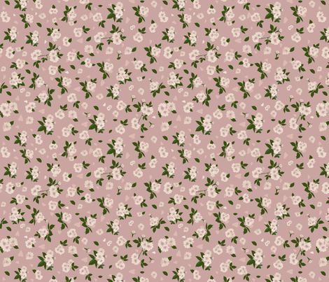 ribar rose fabric by katja_saburova on Spoonflower - custom fabric