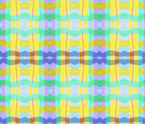 More Watercolor Stripes fabric by robin_rice on Spoonflower - custom fabric