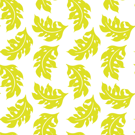 Leaves  fabric by aimeesthill on Spoonflower - custom fabric