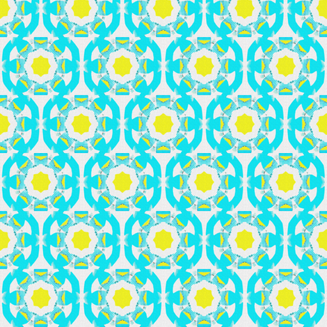 Fried Eggs for Coyote fabric by anniedeb on Spoonflower - custom fabric