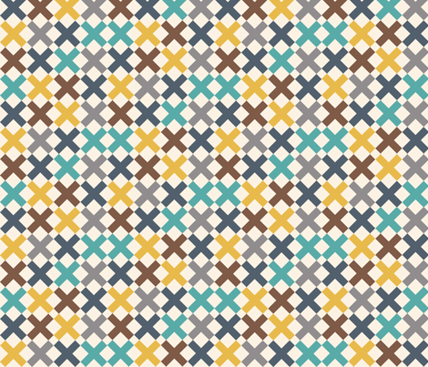 XXX fabric by natasha_k_ on Spoonflower - custom fabric