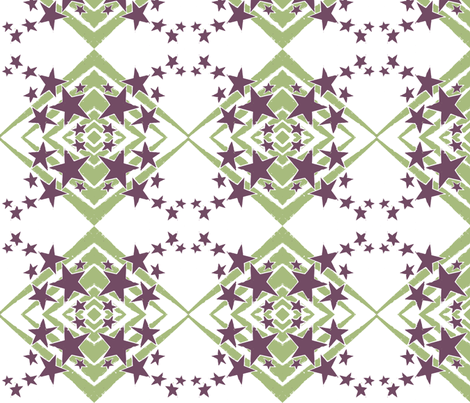 Geo, smaller-ch fabric by hooeybatiks on Spoonflower - custom fabric