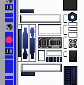 Star R2 Droid D2 Wars Small